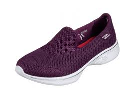 skechers go walk 4 propel raspberry purple women u0027s slip on comfort
