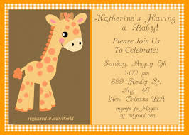templates free baby shower invitation templates for email as