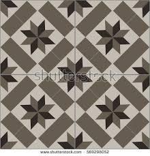 patterned floor wall tiles modern decor stock vector 569297962