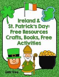 lmn tree ireland and st patrick u0027s day free resources crafts