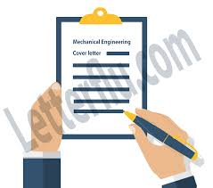 Mechanical Engineering Cover letter Entry level letterflu