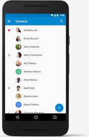 contacts app android switch to android