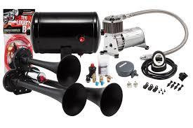 model hk3 chrome triple air horn kit u2013 kleinn air horns