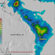 Mexico Precipitation Map by Extreme Rainfall Causes Flooding Over Eastern Australia