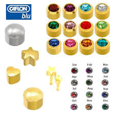 ear piercing studs caflon new pair of ear piercing stud earrings chioce of style