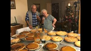 89 year pie bakes dozens of pies for friends family on