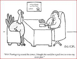 on the edge of something a thanksgiving humor