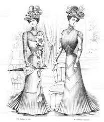 french womens fashion 1900 stock vector art 468161029 istock