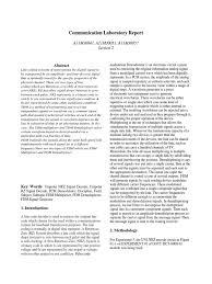 communciation lab report modulation detector radio