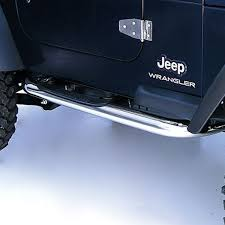 jeep wrangler side steps for sale buy side steps 3 inch stainless steel 97 06 jeep