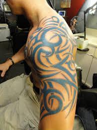 12 tribal tattoos on shoulder