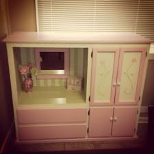 Kids Armoire Wardrobe Up Cycled Tv Cabinet Into Children U0027s Vanity Wardrobe Diy Things