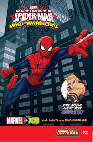 marvel universe ultimate spider man warriors vol 1 2 marvel