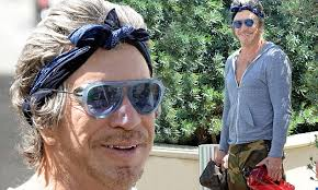 Mickey Rourke News Newslocker - mickey rourke heads to workout in goggle style sunglasses and a