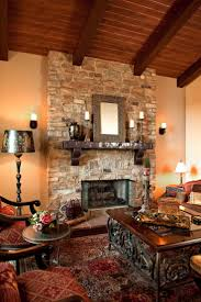 37 best stone fireplaces images on pinterest fireplace surrounds