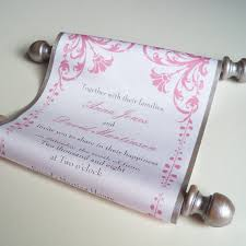 fairytale wedding invitations fairytale wedding invitation wedding invitation scroll with