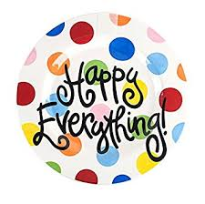 happy everything plates coton colors happy everything platter big bright dot