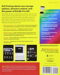 kindle fire hd for dummies for dummies computer tech amazon