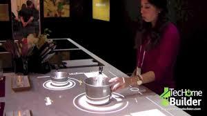 smart countertop techome builder the smart kitchen countertop youtube