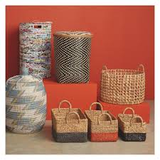 Seagrass Bathroom Storage Adder Blue Seagrass Laundry Basket With Lid Bathroom Storage