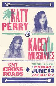 Tiny Desk Concert Kacey Katy Perry U0026 Kacey Musgraves To Perform Together For U0027cmt Crossroads U0027