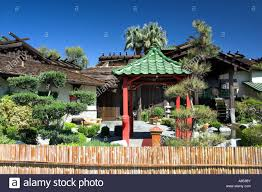 oriental landscaping and decor at the kobe japanese steak house