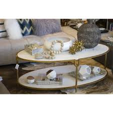 global views coffee table global views iron and marble stone coffee table shop vanillawood