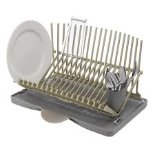 High  Dry Dish Rack Drying Racks Dishes Kitchen Sink Hand - Kitchen sink drying rack