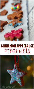 how to make cinnamon applesauce ornaments cinnamon ornament and craft