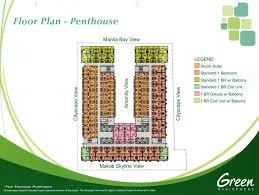 green residences floor plan layout