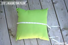 How To Make Sofa Pillow Covers 5 Minute Pillow Covers Tutorial Wonder Forest