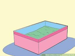 How To Make Bed 3 Ways To Make A Bed For American Dolls Wikihow