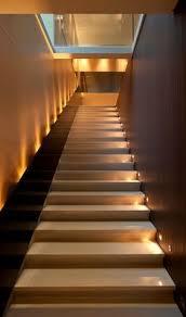 interior lighting for homes floor uplights on stair half landing decor lighting design