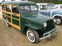 green station wagon 1949 willys overland station wagon