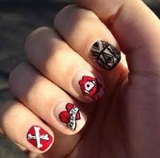 nail designs with letters nail designs pinterest nails