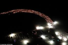 Lights All Night 2014 Lineup Burning Man Lights Up Nevada Desert As 60 0000 Festival Revelers