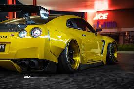 Nissan Gtr Gold - rocketbunny nissan gt r adv06r track spec cs wheels adv 1 wheels