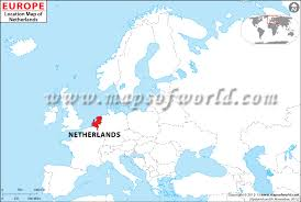 netherlands location in europe map where is netherlands location of netherlands