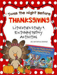 twas the before thanksgiving literature study turkey