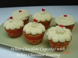 White Cupcakes With Chocolate Frosting More Information