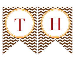 thanksgiving printable banners happy thanksgiving