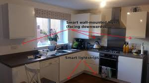 how to add lights kitchen cabinets smart lighting for a kitchen a practical guide smart home