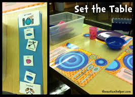 Setting The Table by Set The Table The Autism Helper