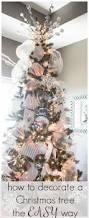 easy christmas tree decorations christmas lights decoration