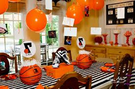 basketball centerpieces basketball party centerpiece ideas decorating of party