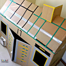 How To Make A Simple Wooden Toy Box by 26 Coolest Cardboard Houses Ever Playtivities