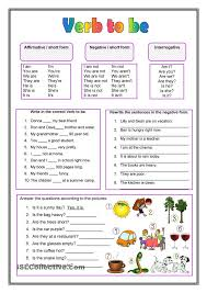 the verb to be esl worksheets of the day pinterest the verb