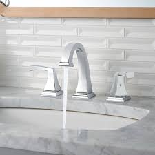 Polished Brass Bathroom Faucets Widespread Bathroom Modern Minimalist Widespread Bathroom Faucet For All