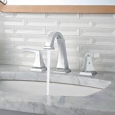 Polished Brass Bathroom Fixtures by Bathroom Modern Minimalist Widespread Bathroom Faucet For All