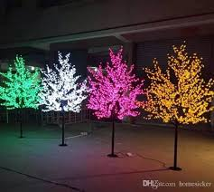 artificial led cherry blossom tree light new year